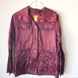 Ruby Rd | Maroon lightweight coat